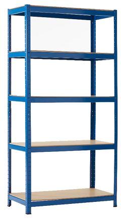 Blue Storage Rack System Starter Bay, 1800mm x 900mm x 450mm product photo