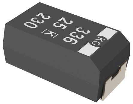 Condensateur tantale 47uF 20V 10/% Kemet