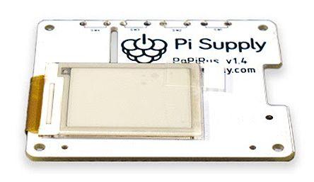 Pi Supply PaPiRus Small Graphic E-Ink Display, Reflective