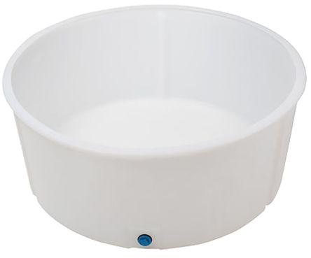 Chemical Safety Bund, White PE 35 litre