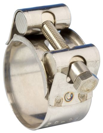 Range 18mm to 25mm. Worm-Drive Hose Clips Jubilee Type