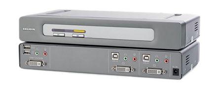 Belkin Omniview 2 Port KVM Switch DVI