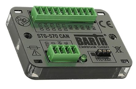 BARTH STG-570 CAN Logic Control Without Display, CAN TTL-232, USB Communication 3 Port