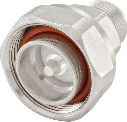 Straight 50Ω RF Adapter Plug to N Socket