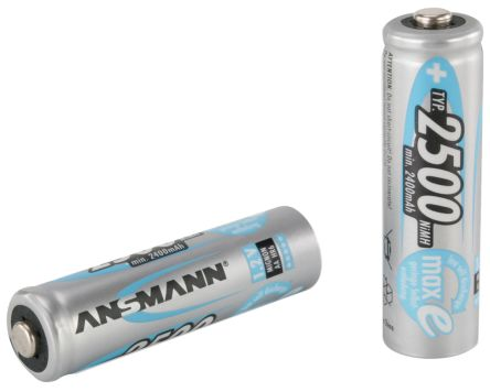 MaxE Precharged NiMH Rechargeable AA Batteries, 2500mAh product photo