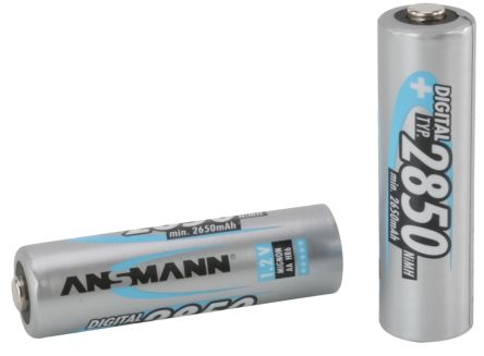 NiMH Rechargeable AA Batteries, 2850mAh product photo