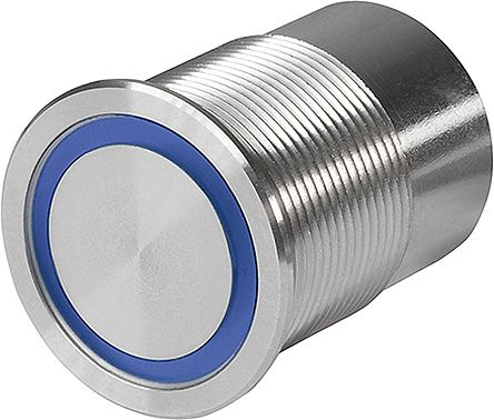 Illuminated Piezo Switch, , 100 mA, Single Pole Double Throw (SPDT), -40 → +85°C