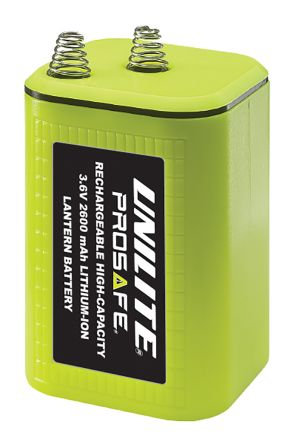 Unilite 3 6v Lithium Ion Lantern Rechargeable Battery 2 6ah