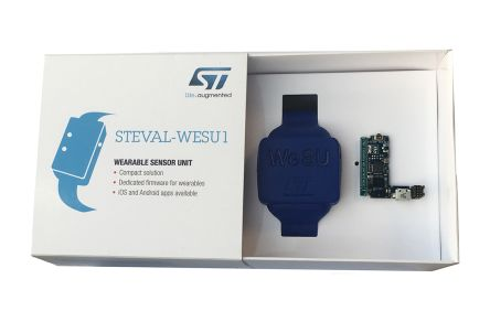 STMicroelectronics STEVAL-WESU1, Wearable Motion Sensor Motion Sensor Reference Design