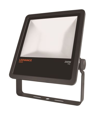 LEDVANCE LED Floodlight, 1 LED, 200 W, IP65 230 V