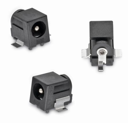 Surface Mount DC Power Socket WR-DC Series, 5.5mm Right Angle 5A product photo