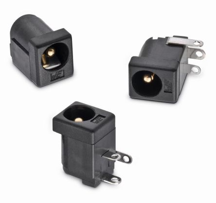 Through Hole DC Power Socket WR-DC Series, 5.5mm Right Angle 5A product photo