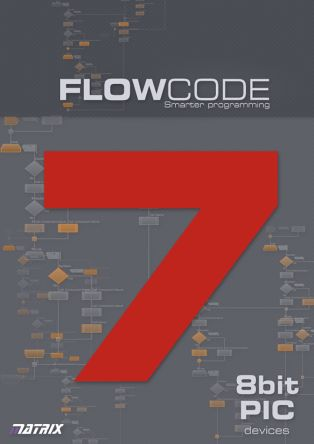 Matrix Technology Solutions Flowcode 7 Professional for 8-bit PIC User Licence Software