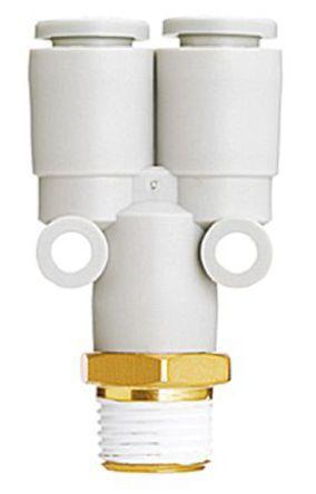 SMC KQ2U06-M5A Пневматический Y переходник с резьбы на трубу