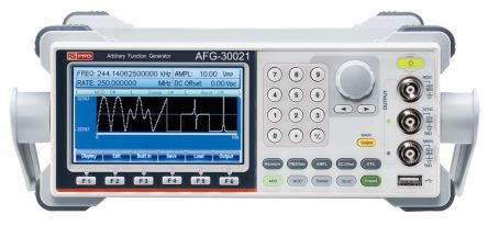AFG-30021 Function Generator 20MHz LAN, USB With RS Calibration product photo