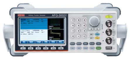 AFG-30022 Function Generator 20MHz LAN, USB With RS Calibration product photo