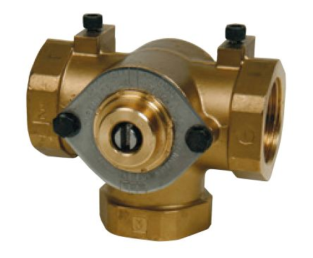 Actuated Valve Brass 3 Way, 1in Pipe Size, MB1502 product photo