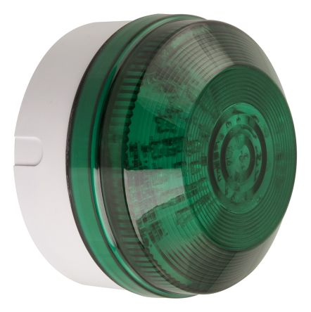 LED, Flashing Beacon LED195 Series, Green, Conduit Box, Wall Mount, 20 → 30 V ac/dc