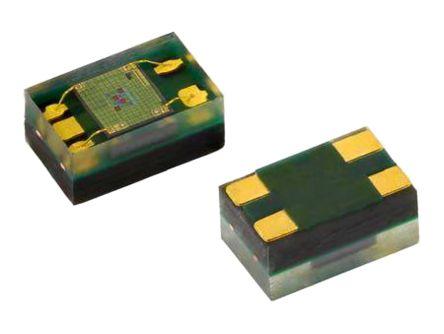 VEML6040A3OG Vishay, Colour Sensor, Ambient Light Spectralsensitivity to Real Human Eye Responses 450 (Blue) nm, 550