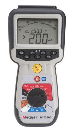 Megger MIT2500, Insulation Tester 200GΩ