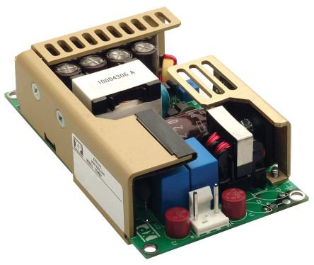 XP Power, 100W AC-DC Converter, 12V dc, Open Frame, Medical Approved