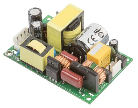 XP Power 130W AC-DC Converter, 3.61A, 36V dc Medical Approved