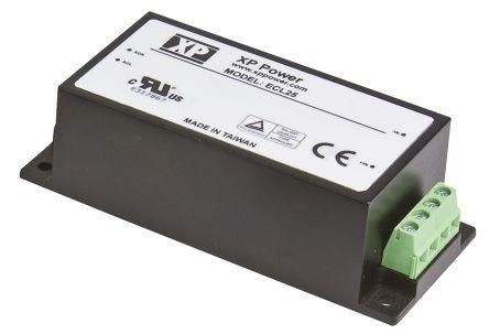 XP Power 25W AC-DC Converter, 5A, 5V dc