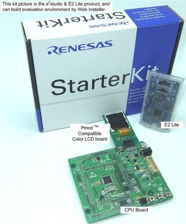 Renesas Electronics MCU Starter Kit RTK500524TS00000BE