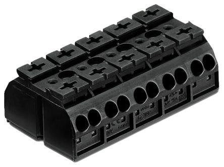 Wago, 20 → 12 AWG Non-Fused Terminal Block,