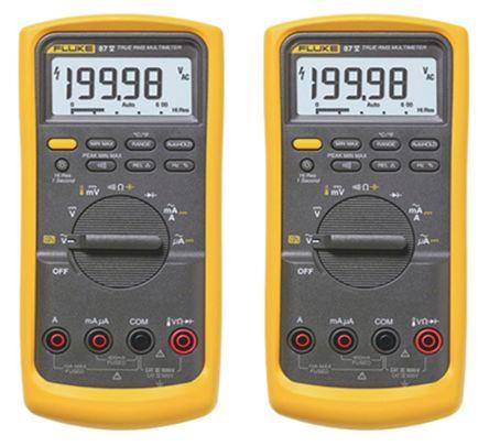 fluke 87 5 twin fluke 87 v digital multimeter twin pack handheld rh uk rs online com fluke 87 multimeter manual pdf fluke 87v multimeter manual