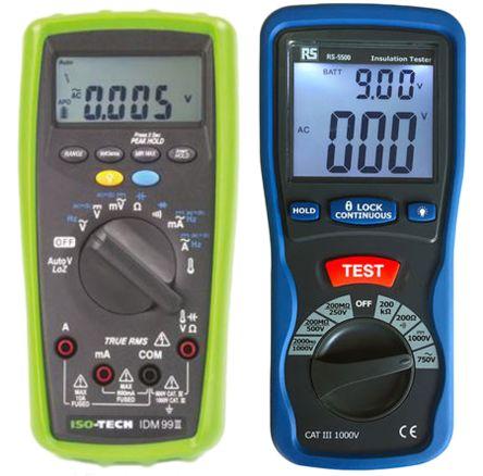 IDM99IV+RS 5500 ISO-TECH   IDM99 III Multimeter, Insulation