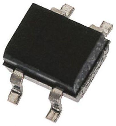 1SMZG10GP TR, Bridge Rectifier, 500 mA, 800 mA 1000V, 4-Pin TO-269AA product photo