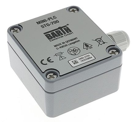 BARTH STG-700 STEP Logic Module, 8  32 V dc Digital, Power Stepper Motor, Solid-State, 4 x Input, 6 x Output