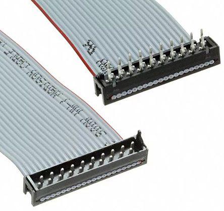 2205120-1 | TE Connectivity Micro-Match Flachbandkabel grau, 20 ...