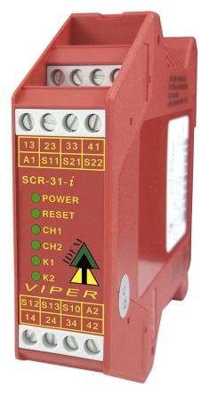 089fa96a97 280002 | IDEM 24 V ac/dc Safety Relay Dual Channel With 3 Safety ...