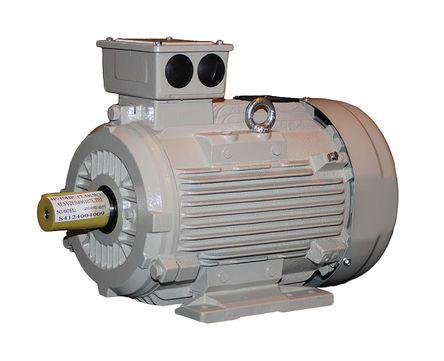 TECO Westinghouse ALDA Induction AC Motor, 3 kW, IE3, 3 Phase, 4 Pole, 230 V, 400 V, Foot Mount Mounting