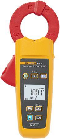 Fluke 368 Clamp Meter, Max Current 60A ac CAT III 600 V