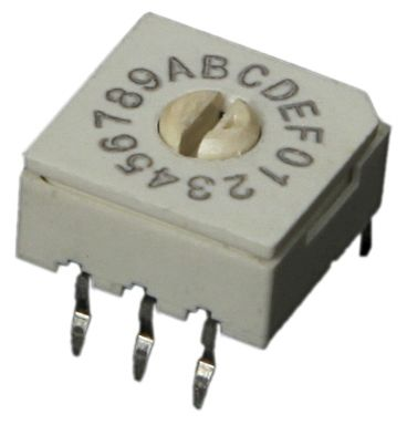 10 Way Through Hole Rotary Switch SPST product photo