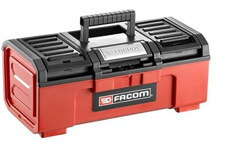 Facom One Touch Plastic Tool Box dimensions 391 x 164 x 222mm