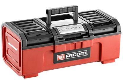 Facom One Touch Plastic Tool Box dimensions 481 x 237 x 271mm