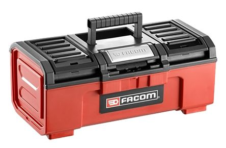 Facom One Touch Plastic Tool Box Removable dimensions 603 x 260 x 273mm