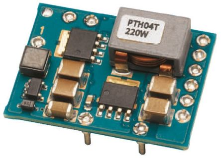Texas Instruments PTH04T220WAD, DC-DC Power Supply Module 5.5 V Input, 11-Pin, DIP Module
