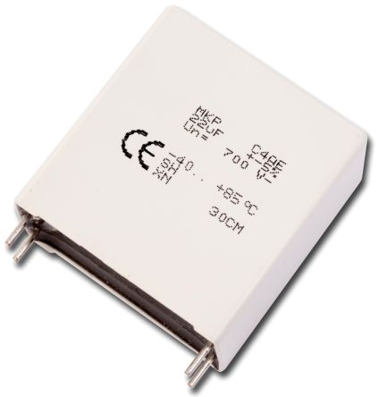 KEMET 50μF Polypropylene Capacitor PP 450V dc ±5% Tolerance Through Hole C4AE Series