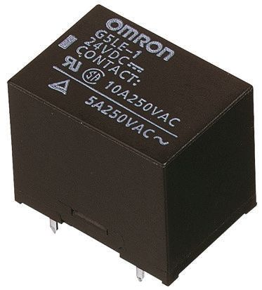 Relay SPDT PCB sealed,10Aac/8Adc 6Vdc