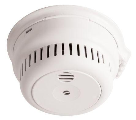 Optical Mains smoke alarm w batt back up