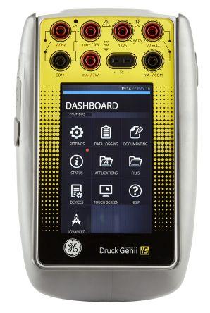 Druck Genii IS Intrinsically Safe Multi Function Calibrator with HART 30 V dc, 300 V ac +55A 1000bar