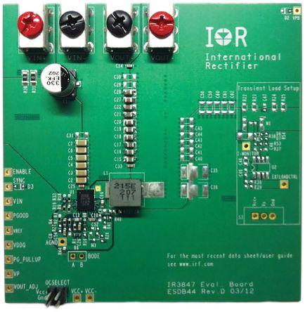 Infineon IRDC3847 SupIRBuck DC-DC Regulator for IR3847 Evaluation Board