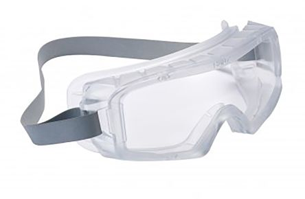 Bolle COVACLEAN Anti-Mist Coating, Scratch Resistant Clear Polycarbonate (PC) Safety Goggles