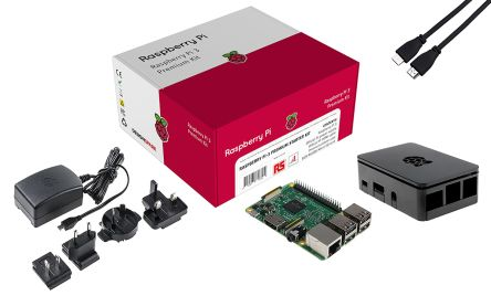 DesignSpark Raspberry Pi 3B+ / PSU / HDMI / Case & NOOBS Bundle