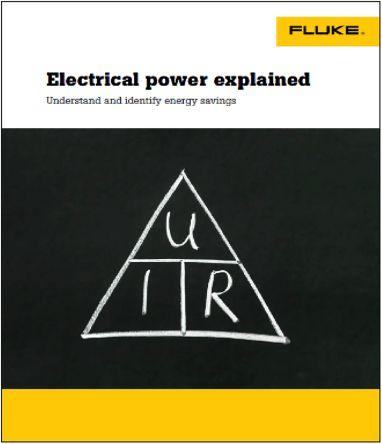 Fluke EPE-TRAINING-G/EU Power Quality Analyser Software, Accessory Type Electrical Power Training Program-German